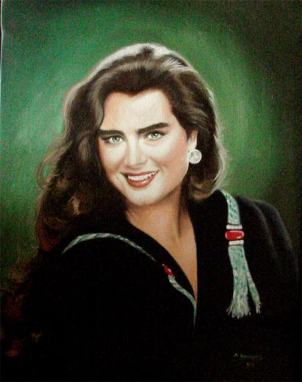 Brooke Shields by wisewyn